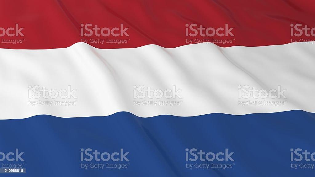 Dutch Flag HD Background - Flag of the Netherlands Illustration stock photo