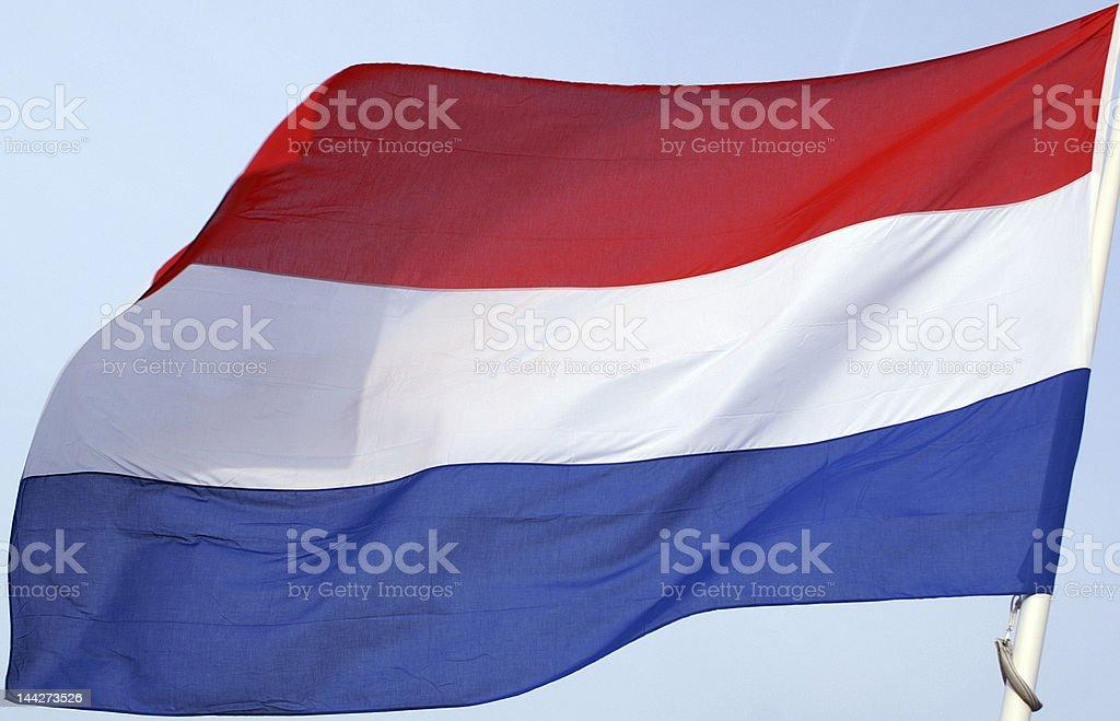 Bandera holandesa - foto de stock