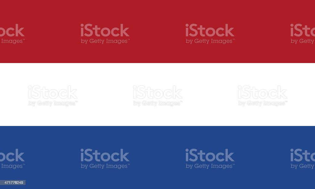 dutch flag royalty-free stock photo