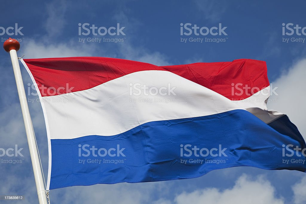 Bandera holandesa # 4, XXXL - foto de stock