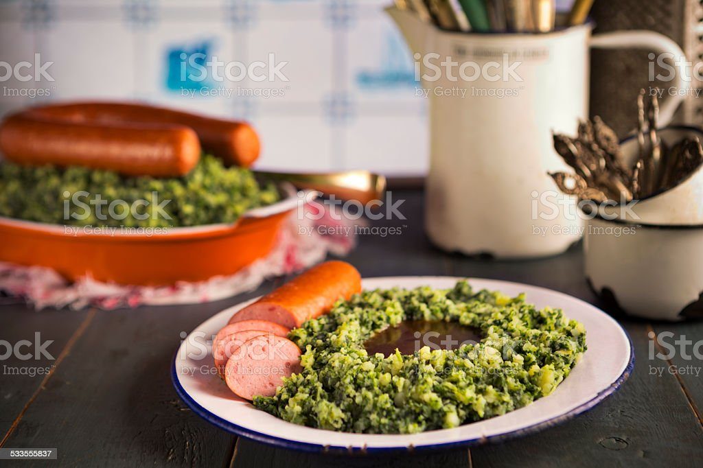 Cucina Olandese Ravizzone Con Salsiccia Affumicata Oppureboerenkool