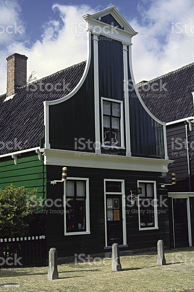 Dutch Gable royalty-free stock photo