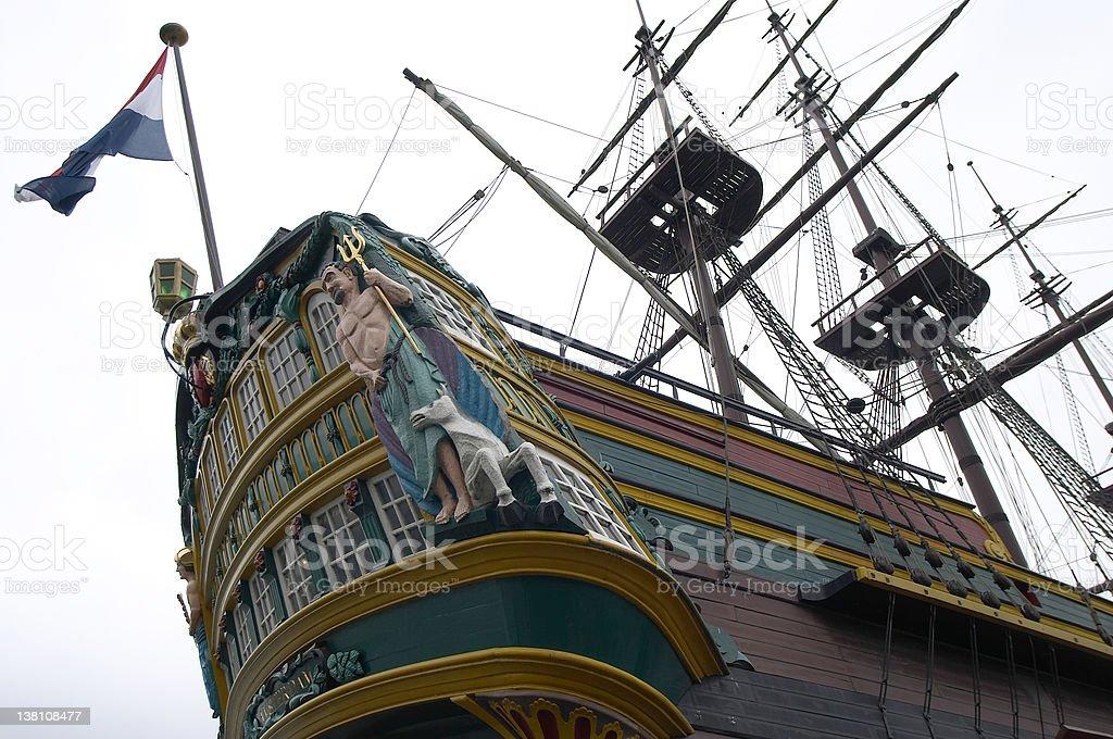 Dutch Galleon stock photo