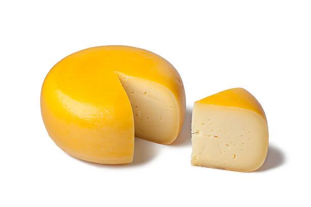 Dutch Gouda cheese stock photo