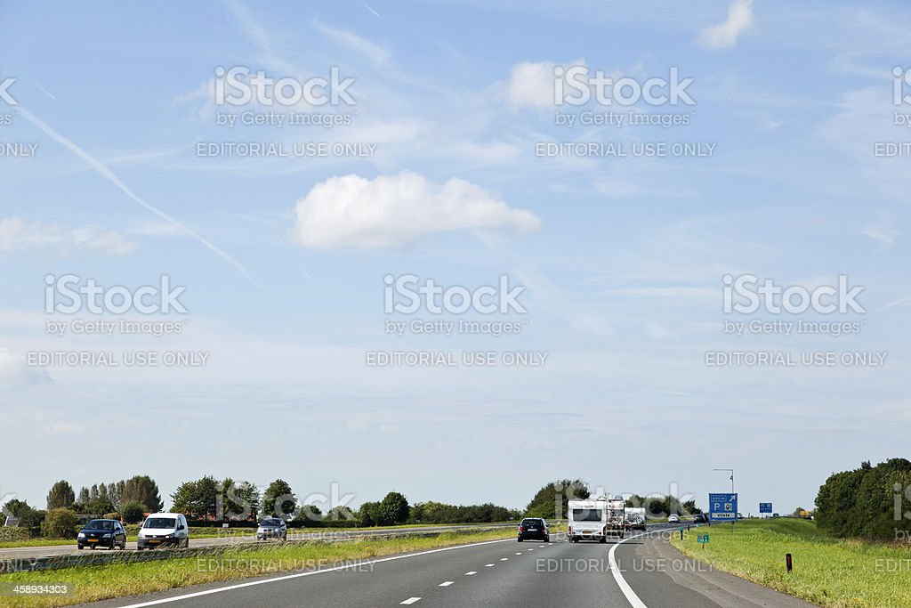 Dutch highway # 2 XXXL royalty-free stock photo