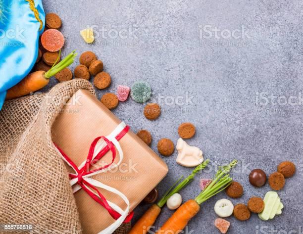 Nederlandse Vakantie Sinterklaas Achtergrond Stockfoto en meer beelden van Achtergrond - Thema