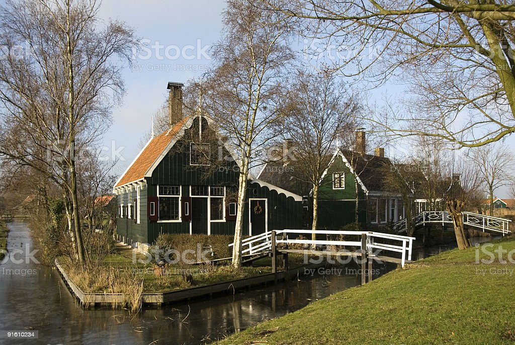 Dutch Houses royalty-free stock photo