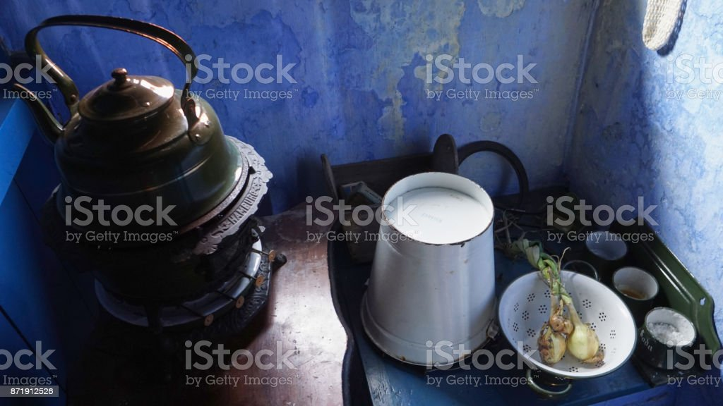 Dutch Kitchen royalty-free stock photo