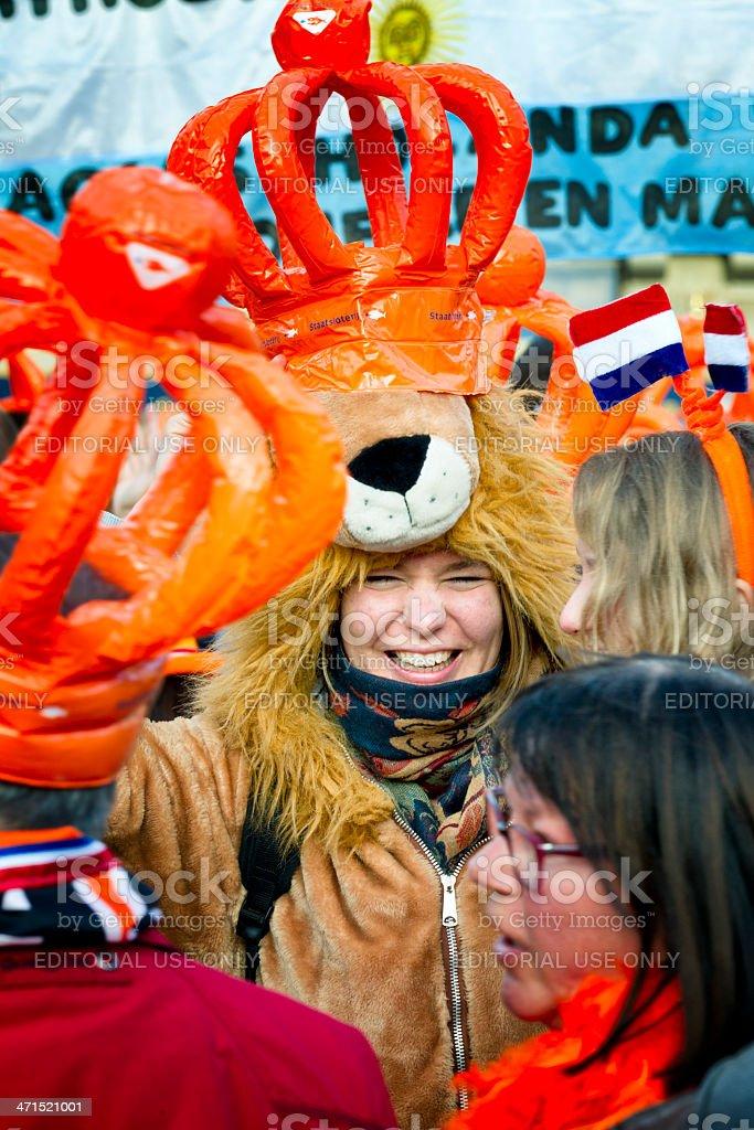 Dutch LIon royalty-free stock photo