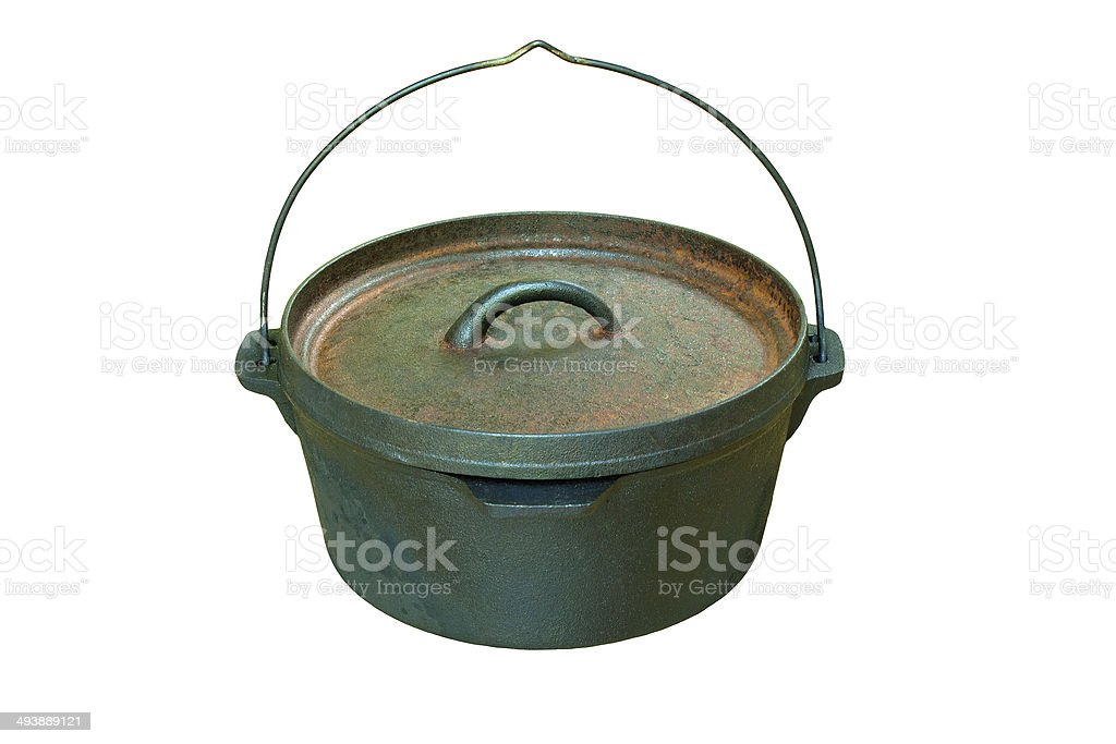 Dutch Oven Casserole Pan stock photo