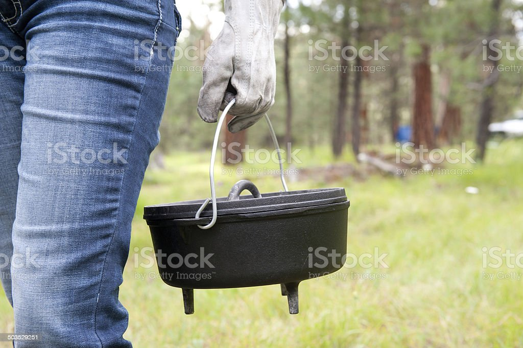 Dutch Oven stock photo