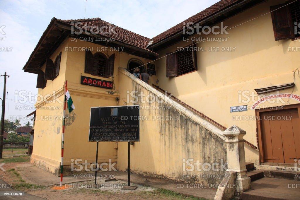 Dutch palace in Kochi, Kerala, India stock photo