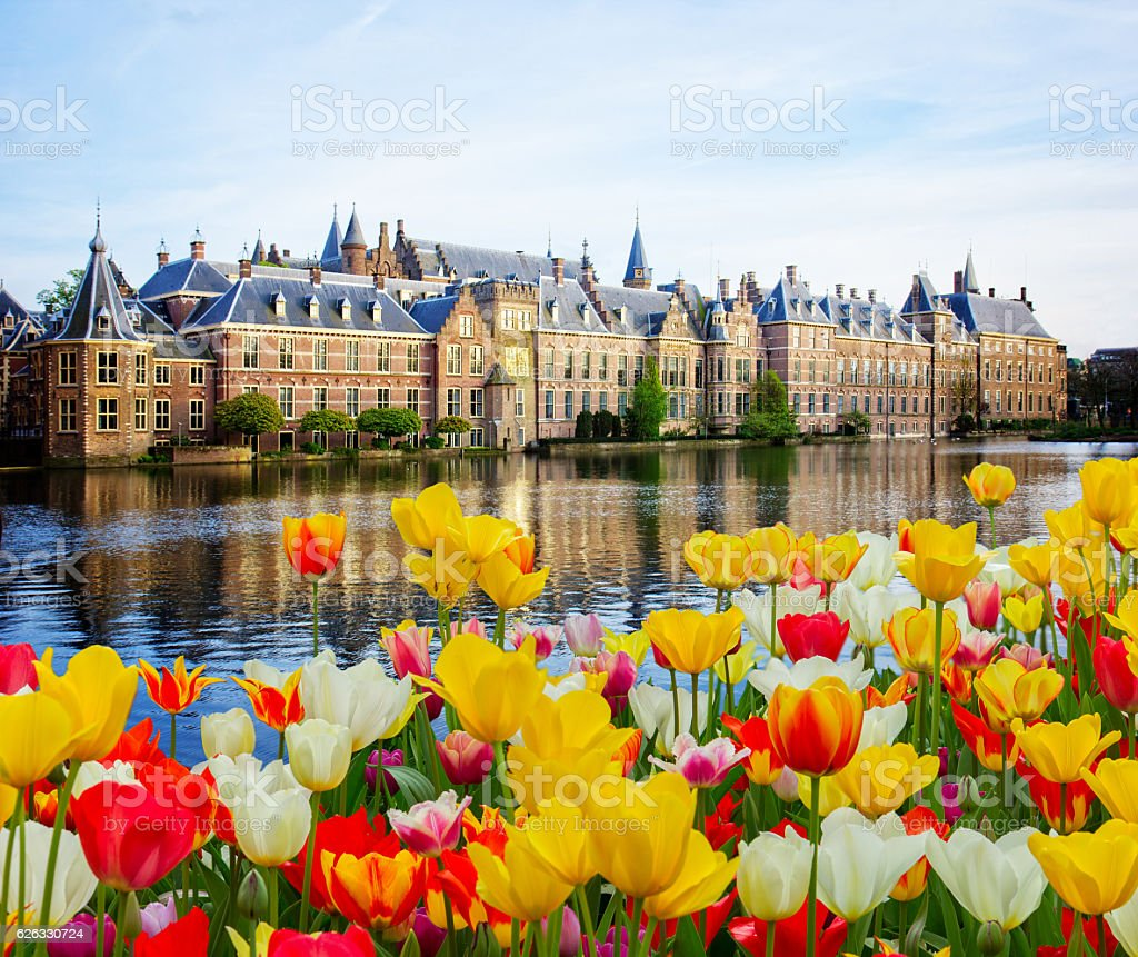 Dutch Parliament, Den Haag, Netherlands stock photo