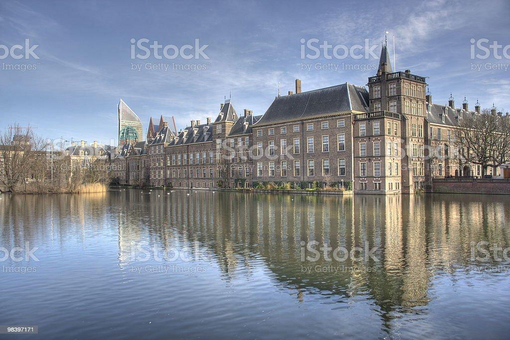 Dutch Parliament royalty-free stock photo