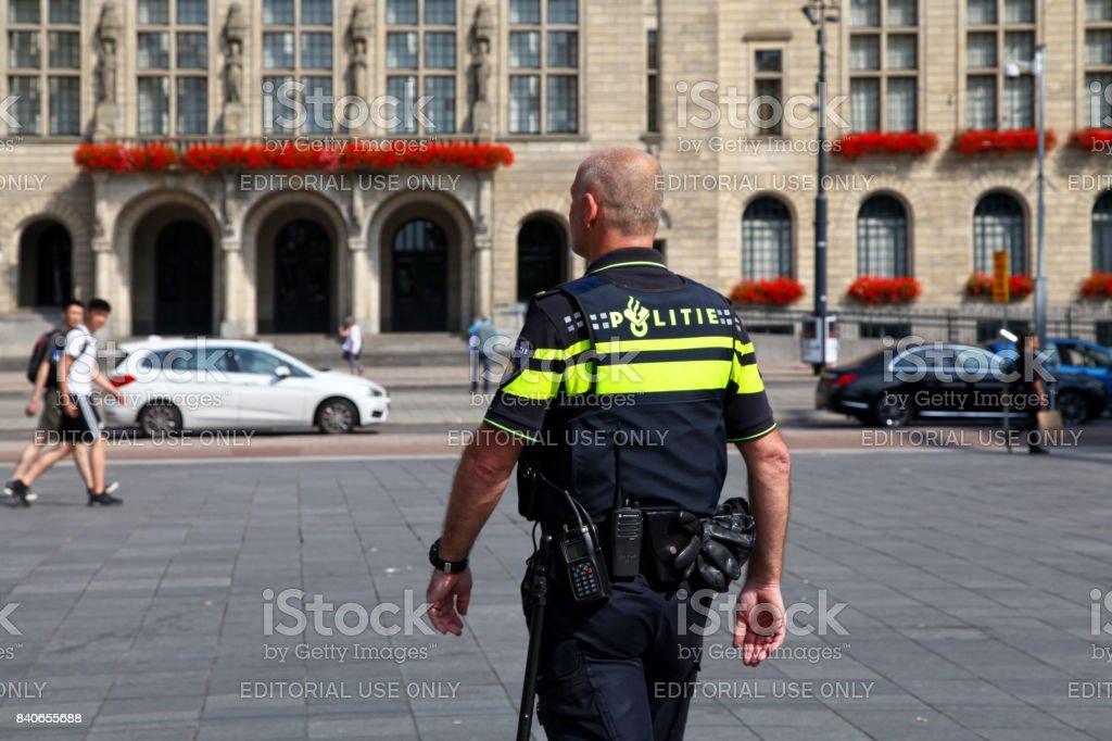 Officier de police néerlandaises - Photo