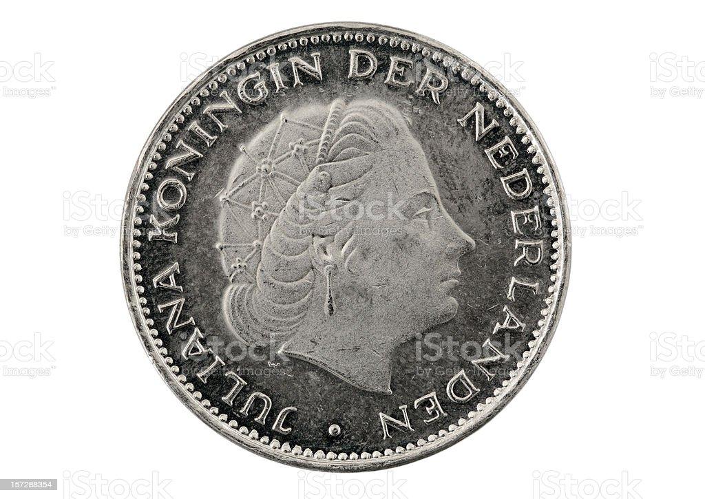 Spanische Königin Juliana Der Niederlande On Twoandahalfgulden Münze