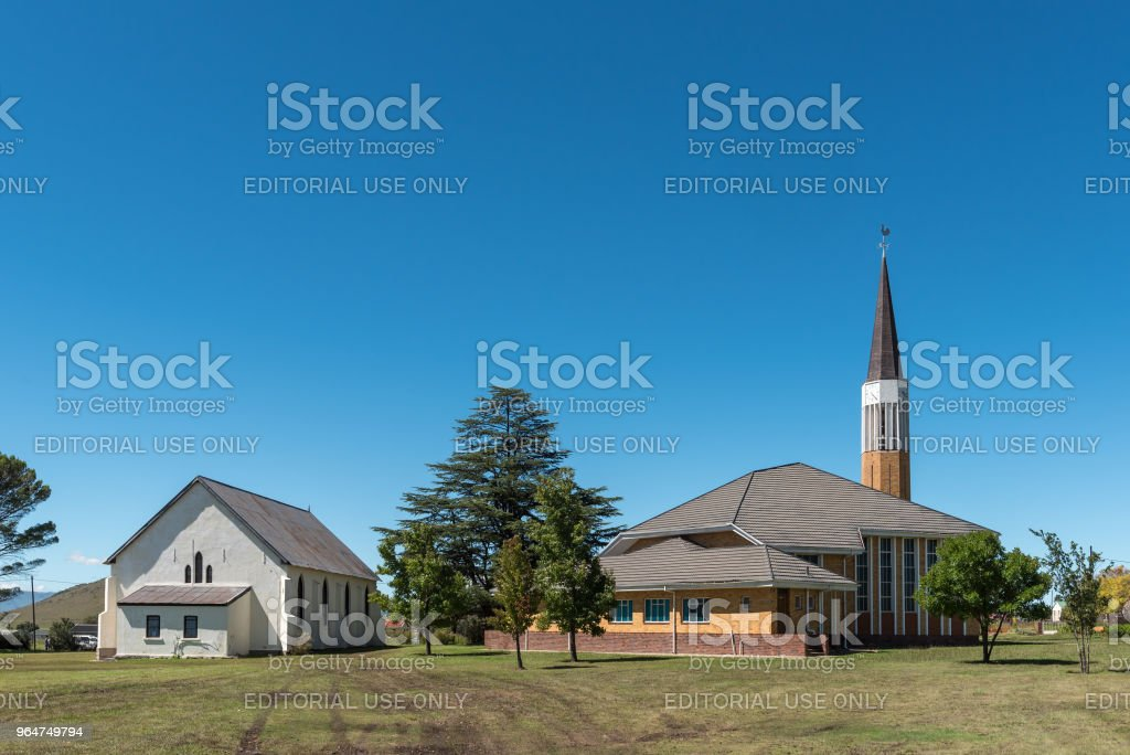 Dutch Reformed Church in Cedarville in the Eastern Cape royalty-free stock photo