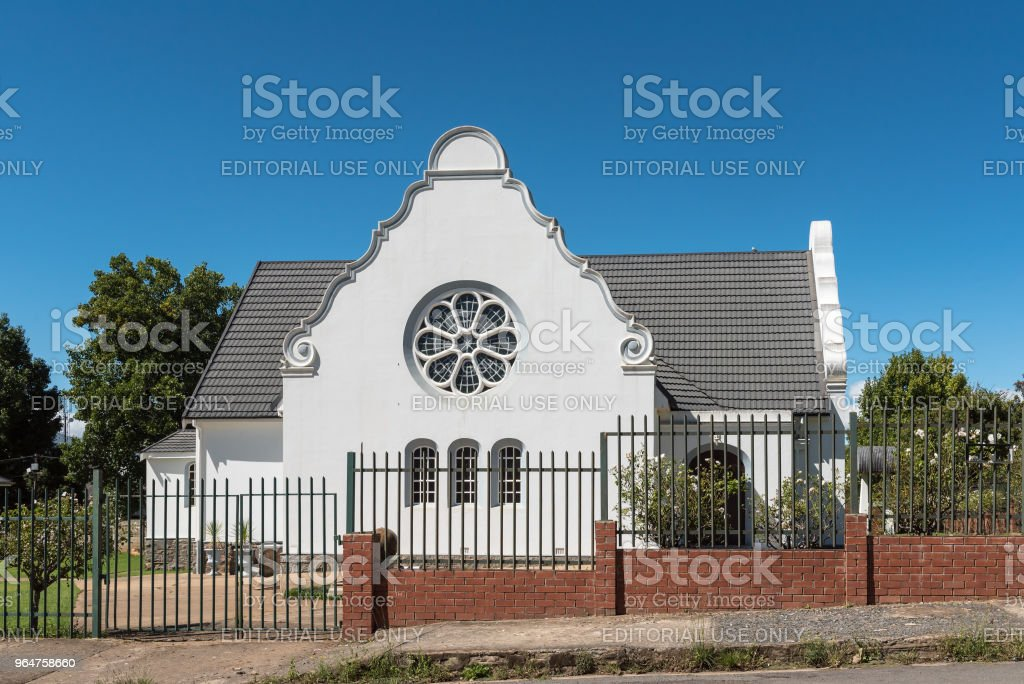 Dutch Reformed Church in Kokstad in Kwazulu-Natal royalty-free stock photo