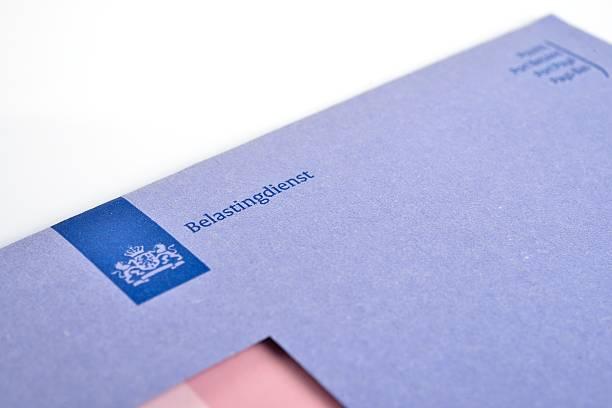 Imposta olandese Busta - foto stock