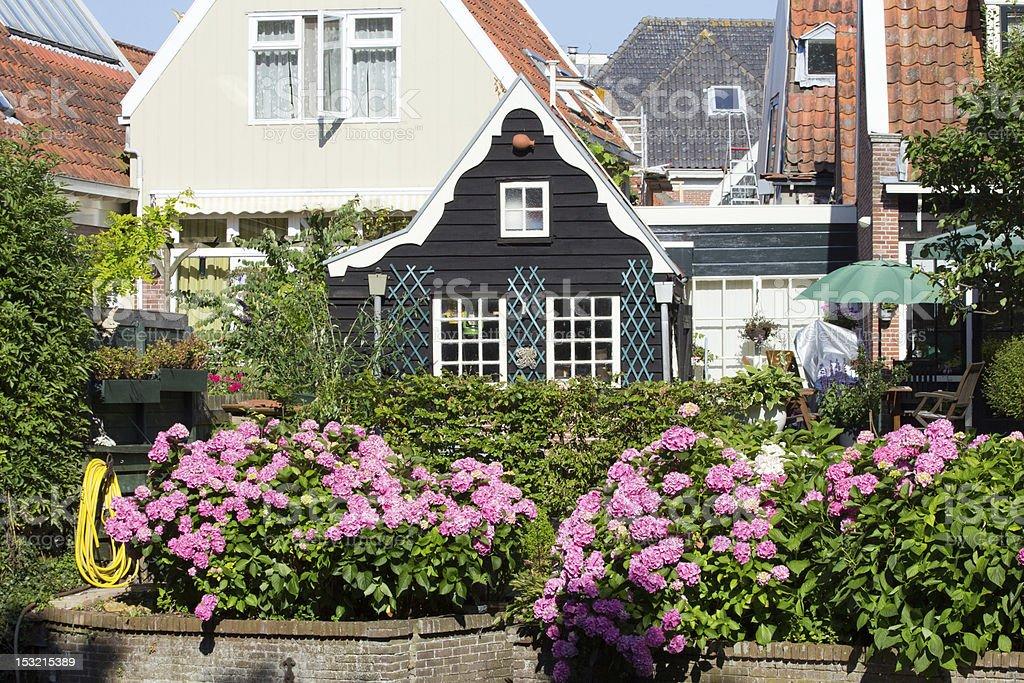 Dutch town stock photo