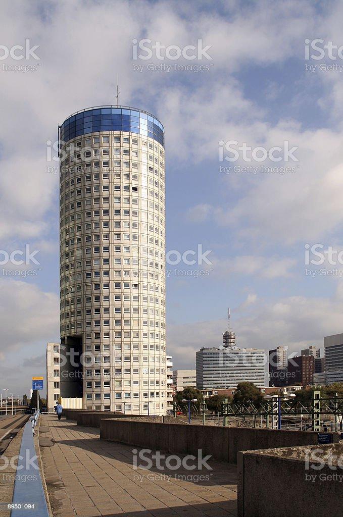Olandese edificio urbano foto stock royalty-free