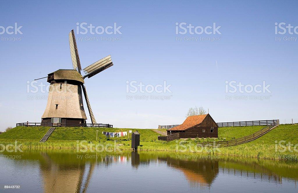 Moulin néerlandais 21 photo libre de droits