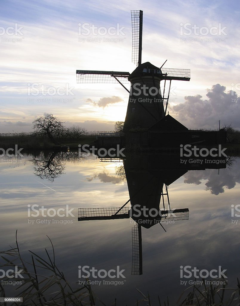 Dutch windmill 5 royalty-free stock photo