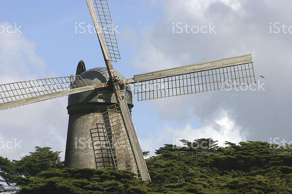 Dutch Windmill royalty-free stock photo