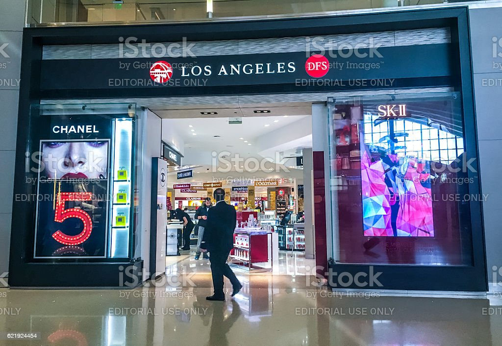 Duty Free At Los Angeles Airport Usa Stock Photo Download Image Now Istock