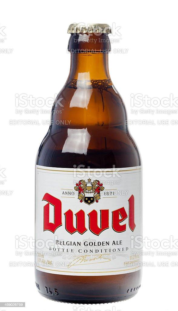 Duvel Beer royalty-free stock photo