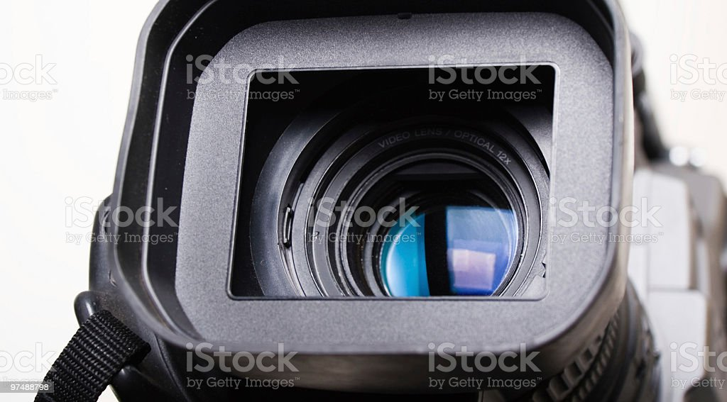 dv-cam camcorder close-up royalty-free stock photo