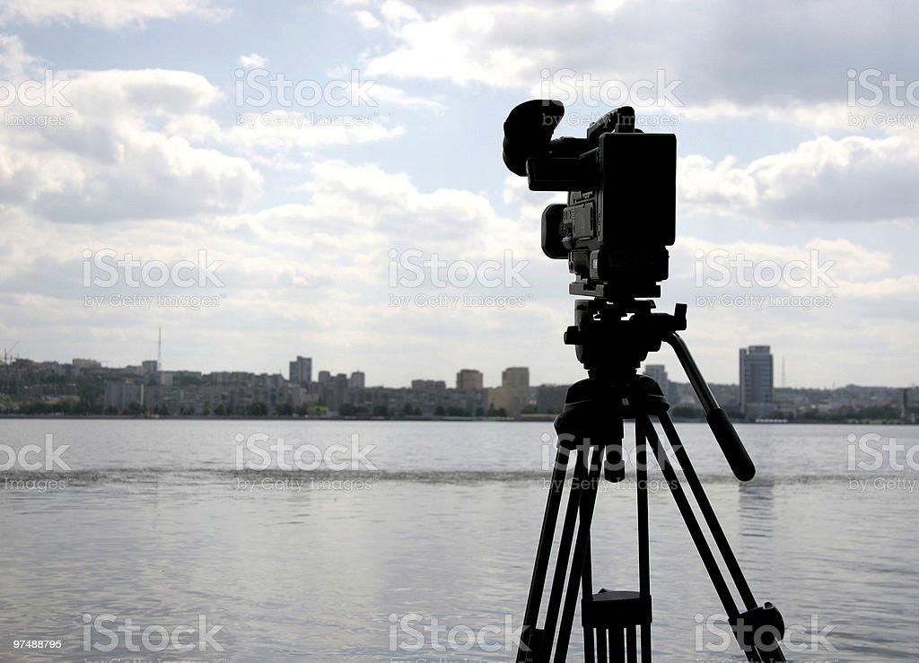 dv-cam camera royalty-free stock photo