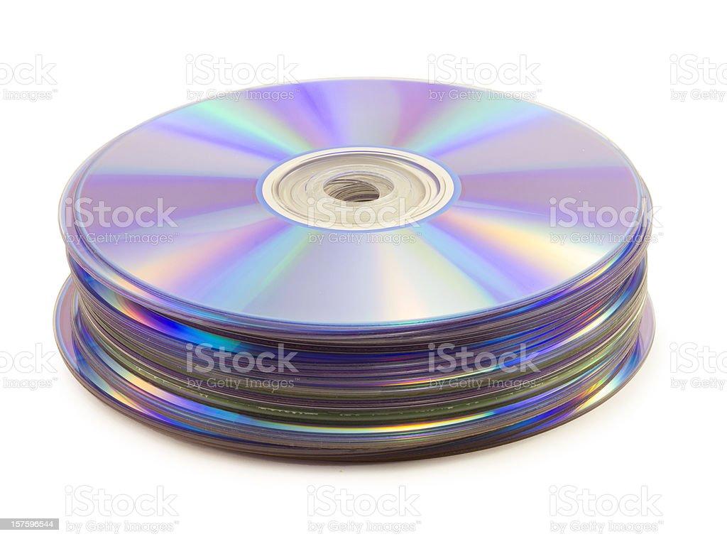 dvd disk stock photo