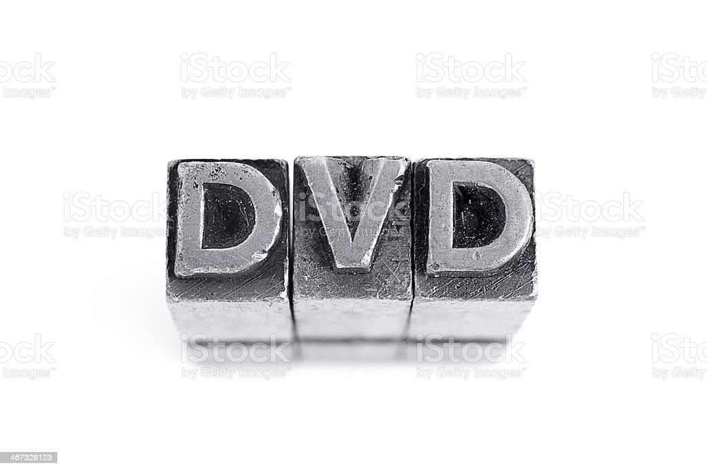 Dvd Sign royalty-free stock photo