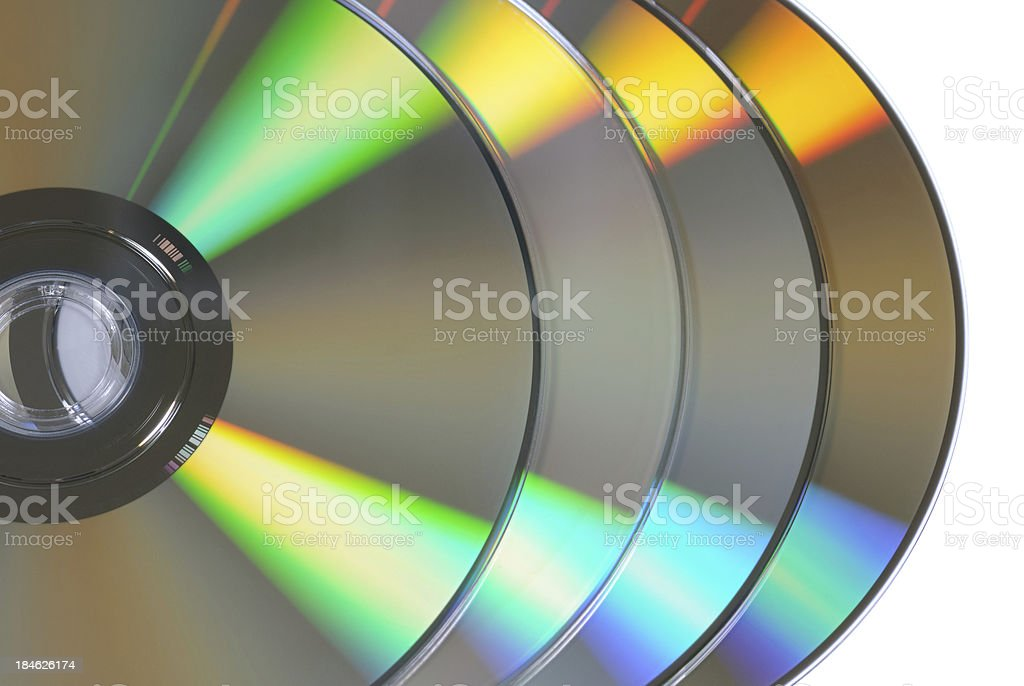 DVDs royalty-free stock photo
