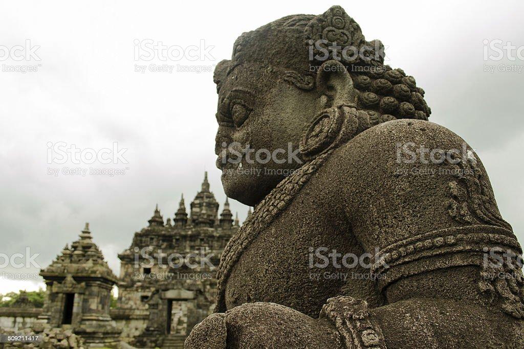 Dwarapala Statue stock photo