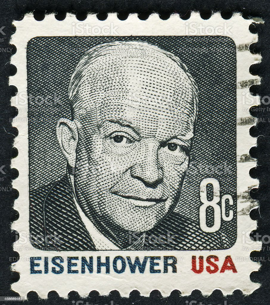 Dwight D. Eisenhower royalty-free stock photo