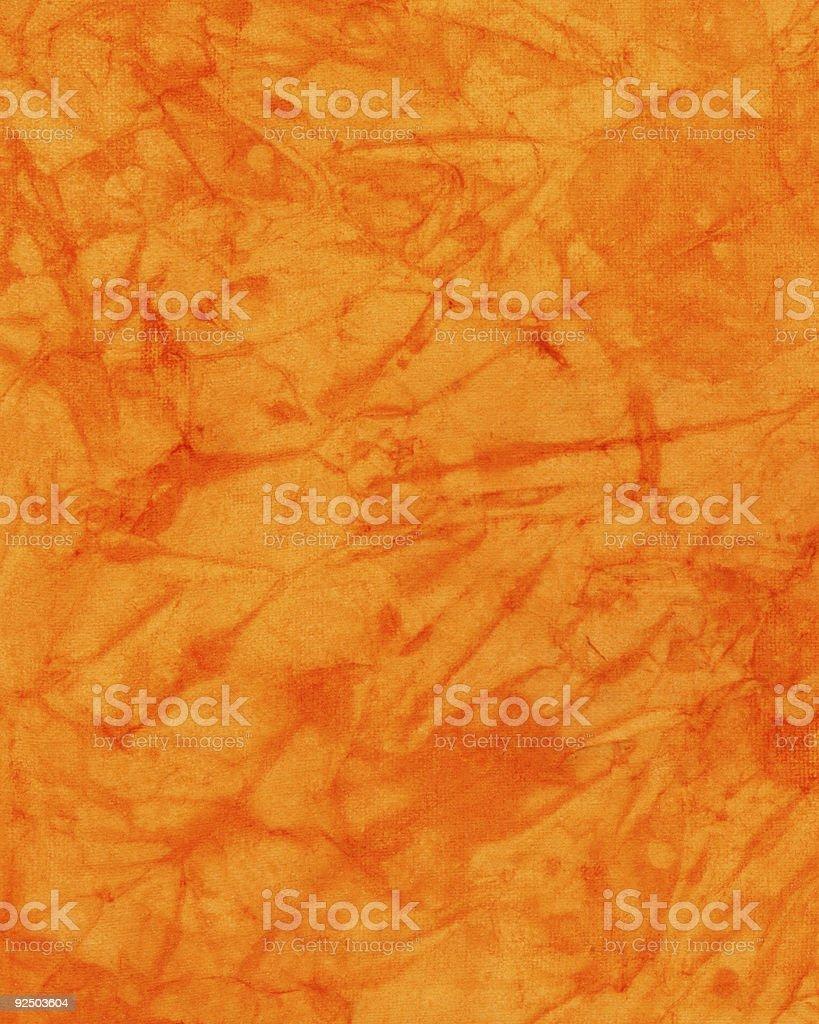 Dyed Orange Paper royalty-free stock photo