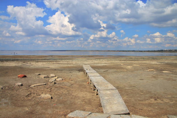A dying salty estuary called Kuyalnik.