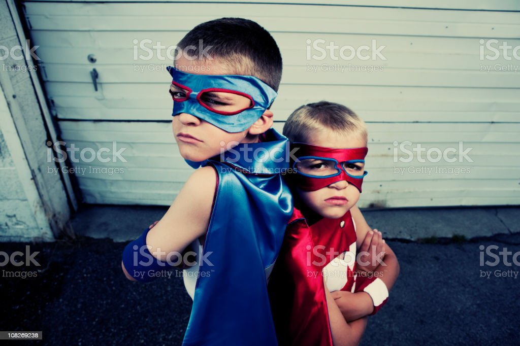 Dynamic Duo royalty-free stock photo