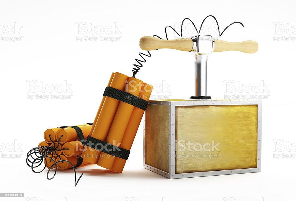 dynamite royalty-free stock photo