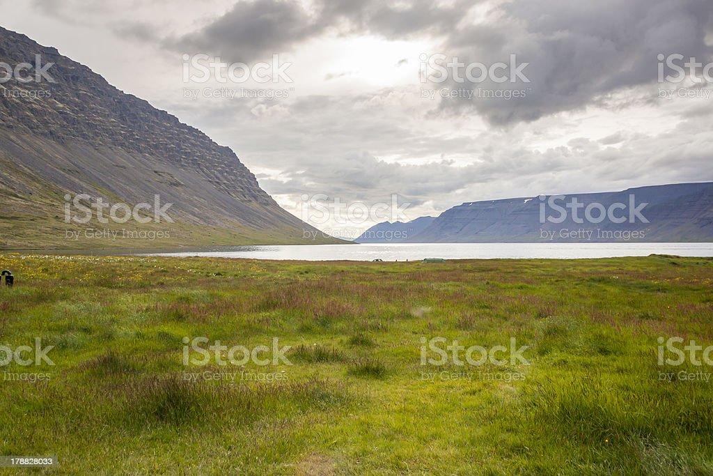 Dynjandisvogur fjord - Iceland. royalty-free stock photo