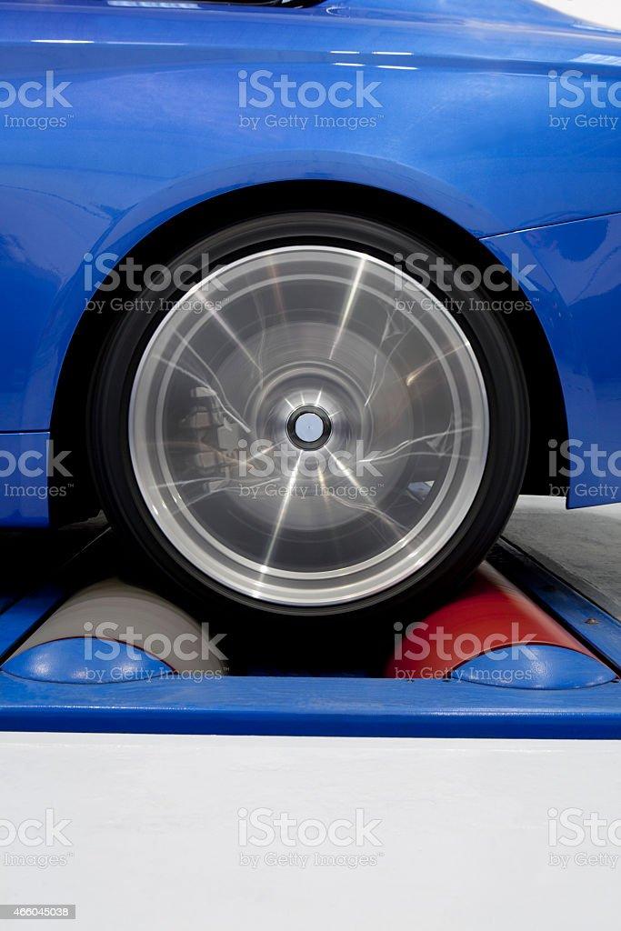 Dyno Testing stock photo