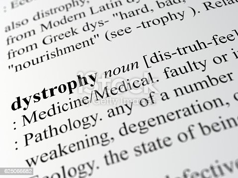 definition of Dystrophy