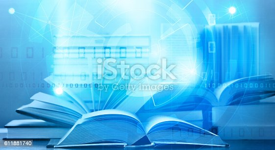istock e book digital learning 611881740