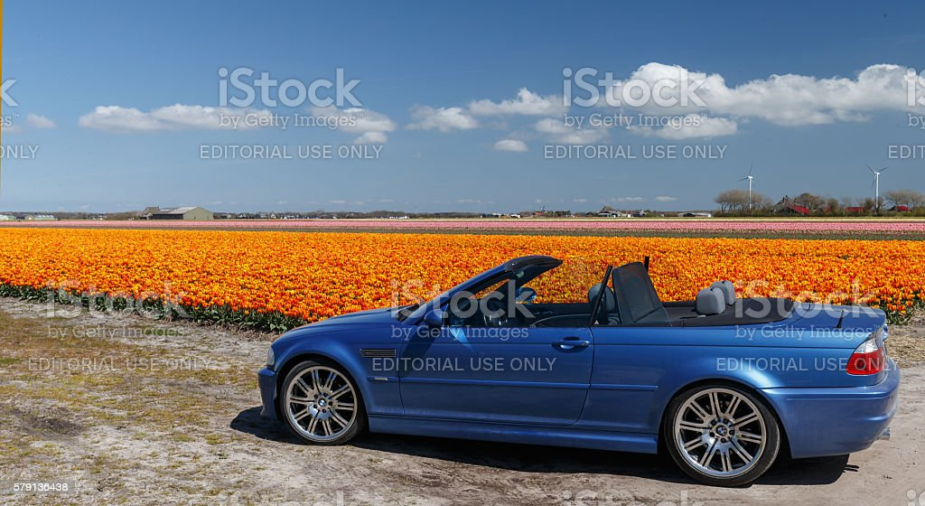 BMW M3 e46 convertible stock photo
