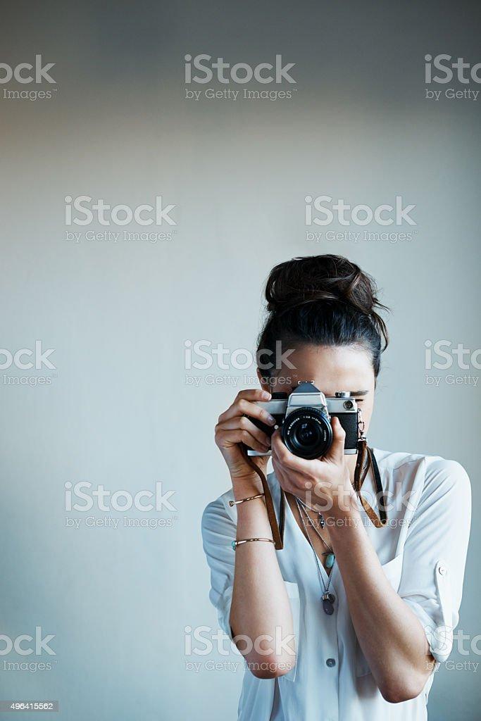 Jedes Foto ist eine Geschichte, die in einen einzigen moment – Foto
