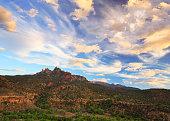 Sandstone Cliff near Hilldale, Utah.