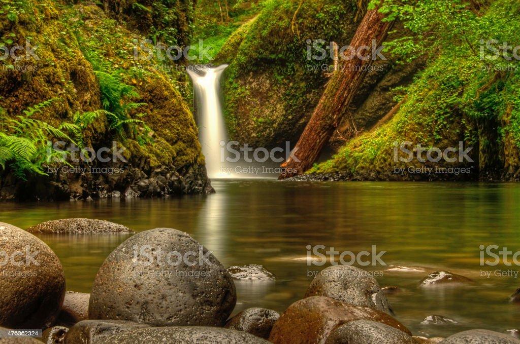 Eagle Ручей Падает-Водопад Панч-Боул Стоковые фото Стоковая фотография