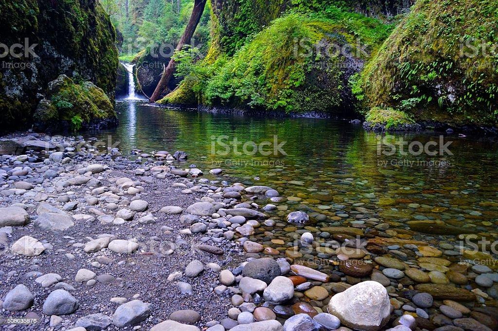 Eagle Creek stock photo